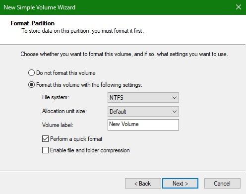Corregir formato de volumen USB no formateable