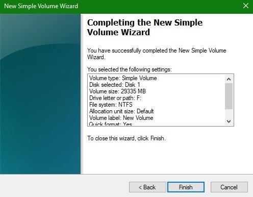 Arreglar la configuración completa del volumen USB no formateable