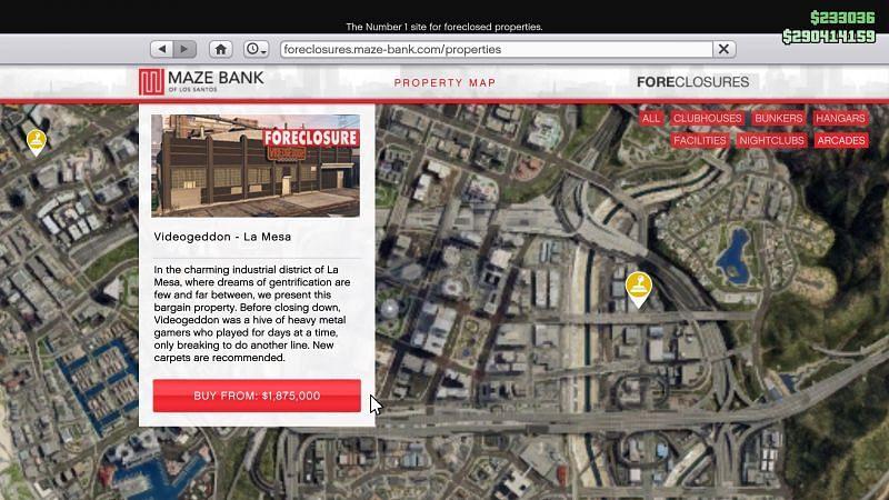 Videogeddon Arcade (Fuente: gtaforums.com)