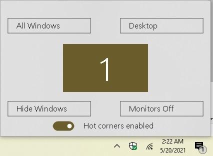 Cómo ser más productivo con Hot Corners en la configuración de Windows 10 Winxcorners