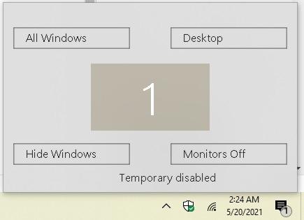 Cómo ser más productivo con Hot Corners en Windows 10 Winxcorners Off
