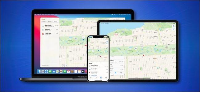 Find My Network de Apple se ejecuta en dispositivos Apple Hero