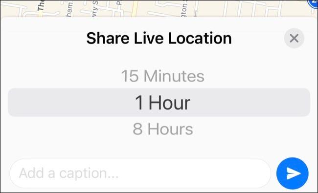 Compartir ubicación usando WhatsApp