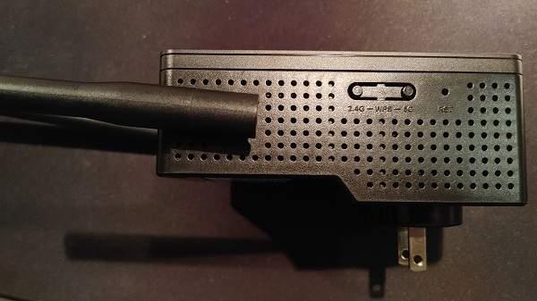 Botón Wps de revisión del repetidor Wi Fi 6 de Rock Space Ax1800