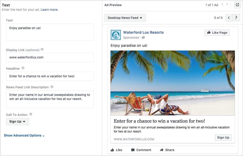 cómo crear anuncios de clientes potenciales en Facebook