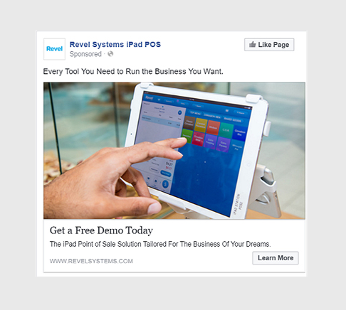 ejemplos de anuncios de clientes potenciales de Facebook