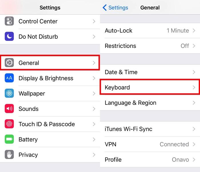 Siguiente Teclado iOS -mte- 02 - Configuración