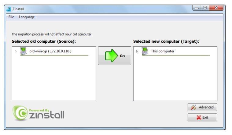 Pc vieja Sincronización de nueva PC