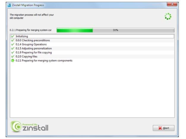 Zinstall Winwin Pc Transfer en línea