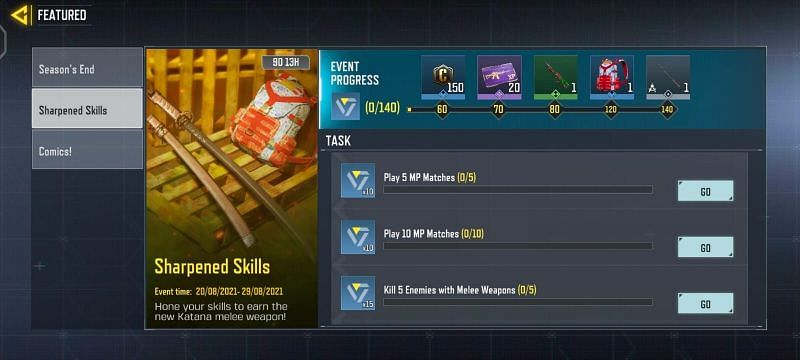 Sharpened Skills tiene diez misiones (Imagen a través de Activision)