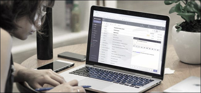 Servicio de correo electrónico seguro ProtonMail