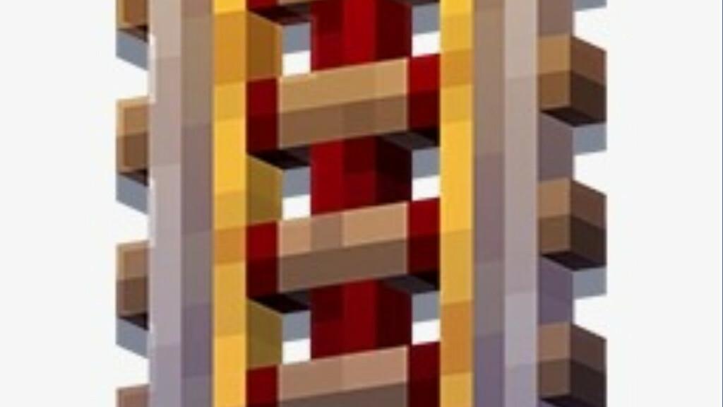Carril accionado en Minecraft