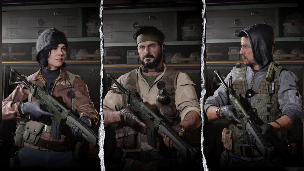 Vista previa del operador Black Ops Cold War