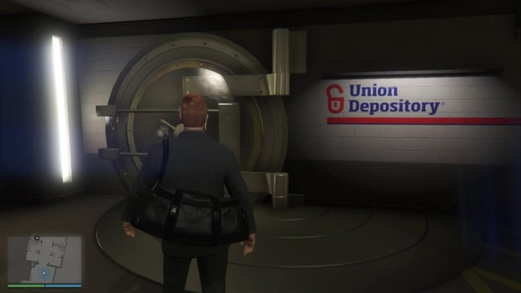 Nuevo contrato de Union Depository en GTA 5