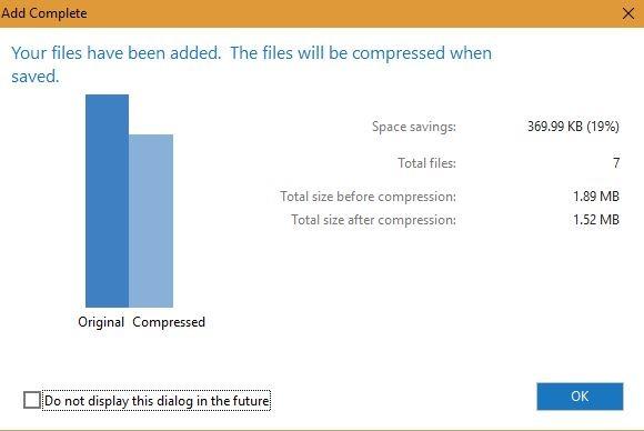Compresión de archivos Winzip