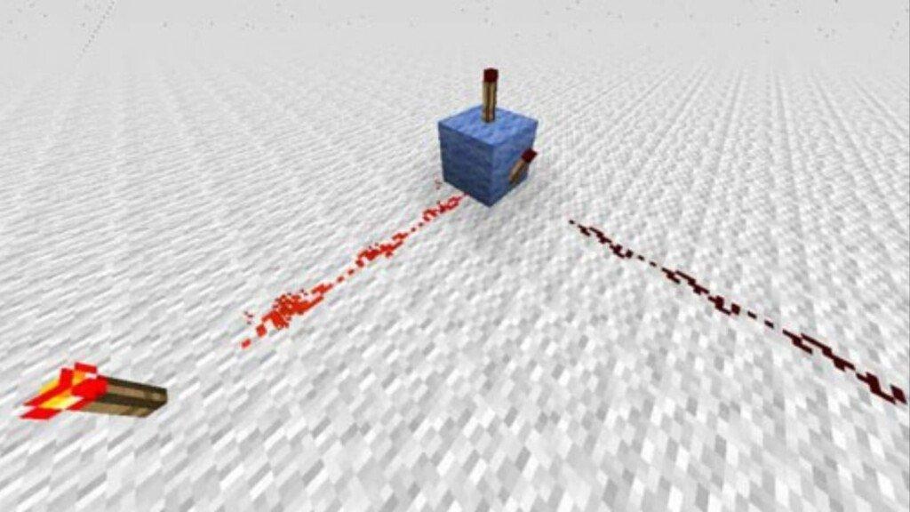 Antorcha de Redstone en Minecraft