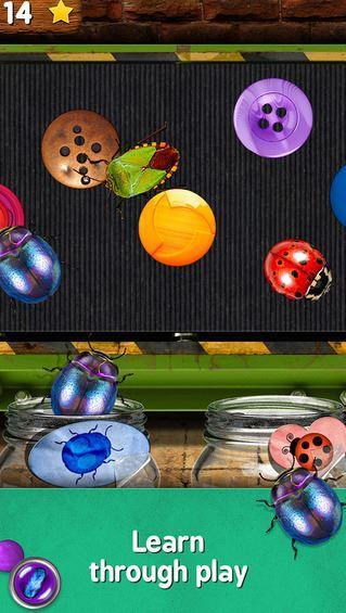 Aplicación iOS Bugs and Buttons.