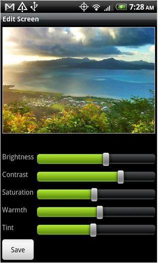 Aplicación iOS Pro HDR Camera.