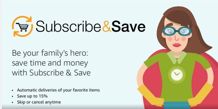 Amazon Subscribeave