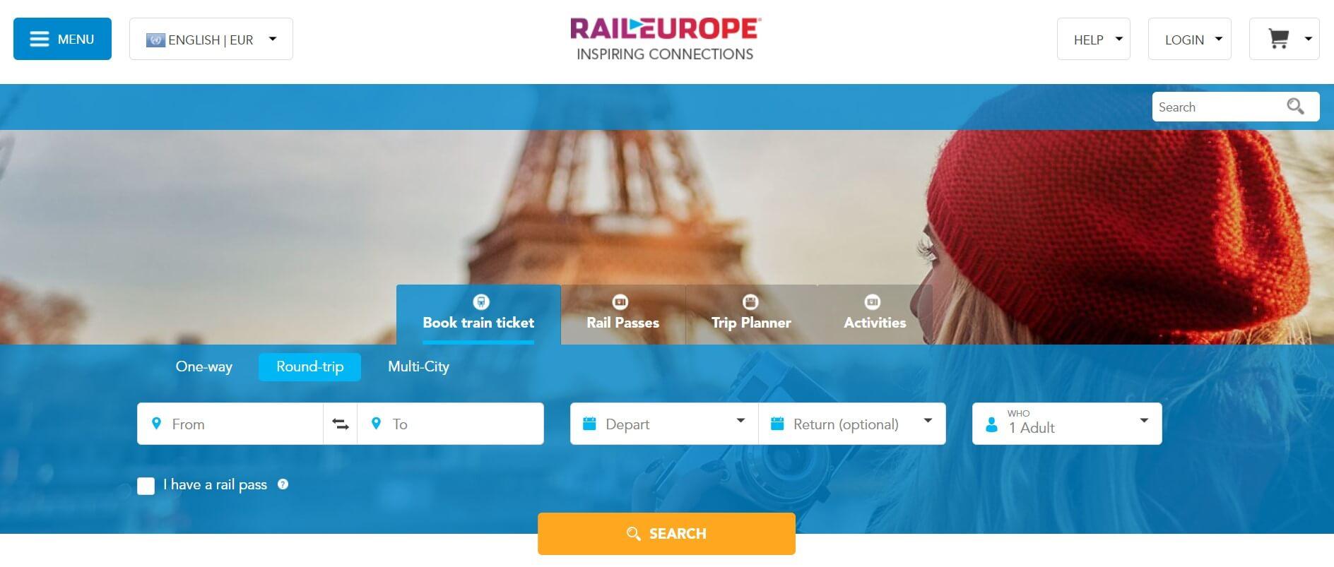 Programa de afiliados de RailEurope