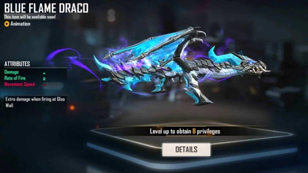 Blue Flame Draco AK en fuego libre