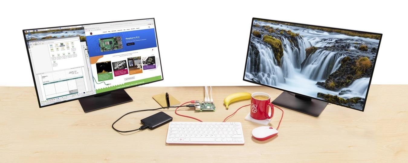 Formas de poner Raspberry Pi 4 para usar una computadora de escritorio