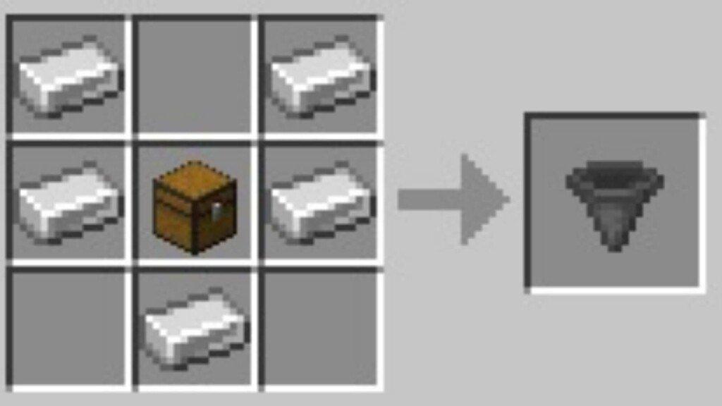 Hopper en Minecraft