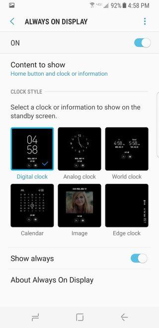 Samsung-Galaxy-S8-ajustar-siempre-encendido