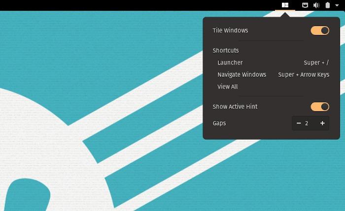 Popos revisa la configuración automática de mosaico de ventanas
