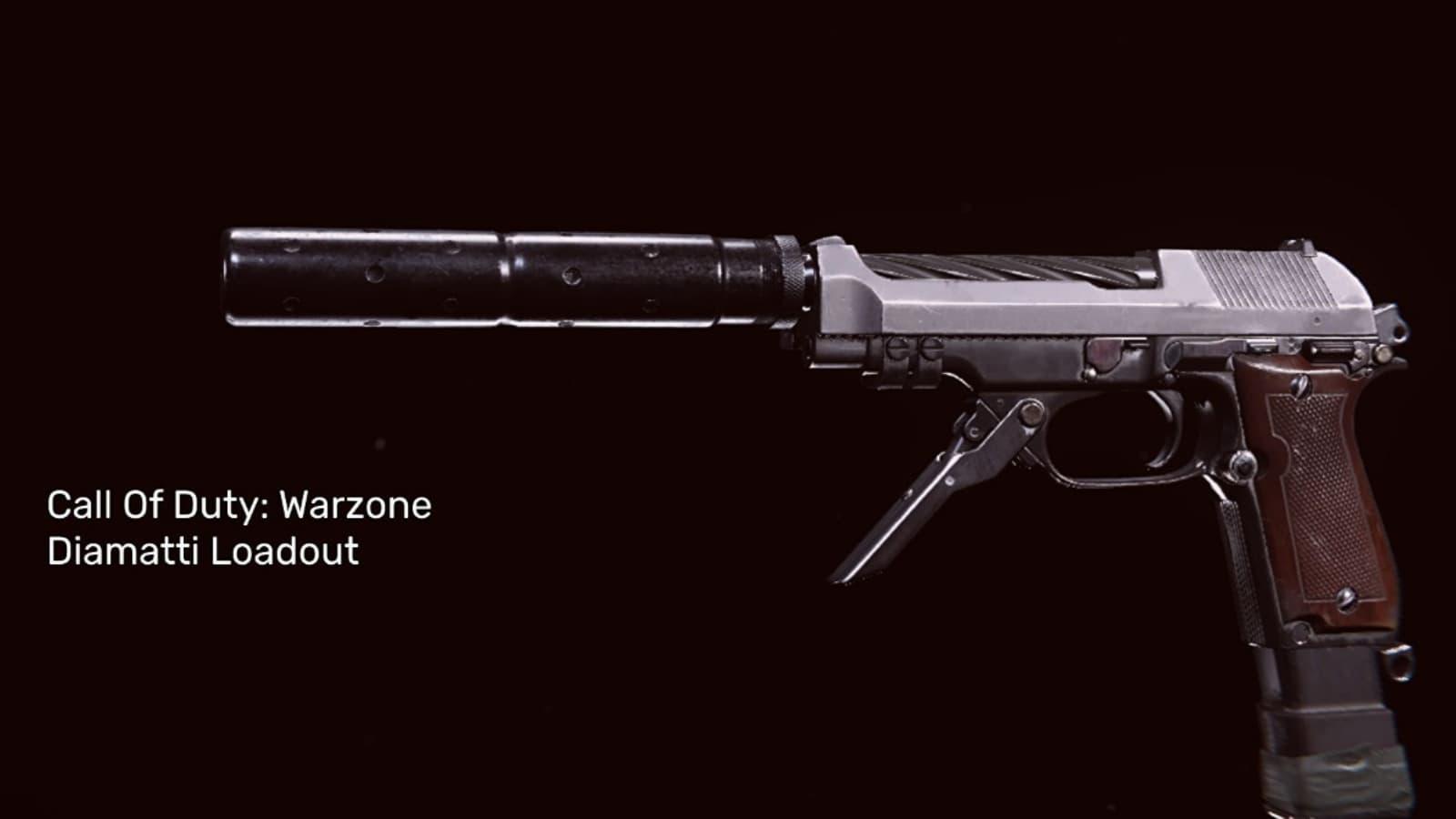 El mejor equipamiento de Diamatti Warzone con detalles