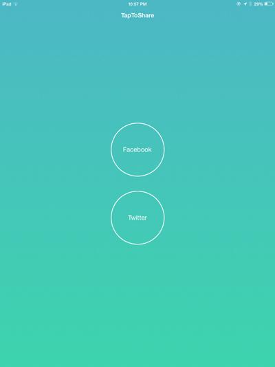 Aplicación FB-Tweet-Widgets-NC