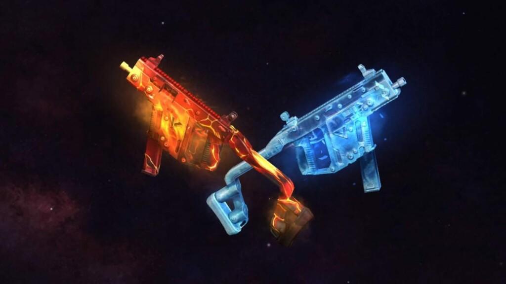 Vector Aquablaze y PARAFAL Red Fury en Free Fire
