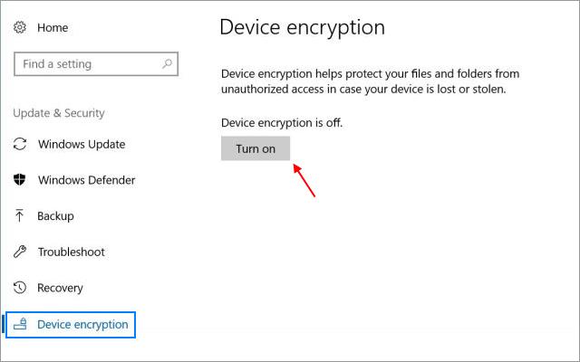 Las mejores alternativas de Bitlocker Cifrado de dispositivos de Windows