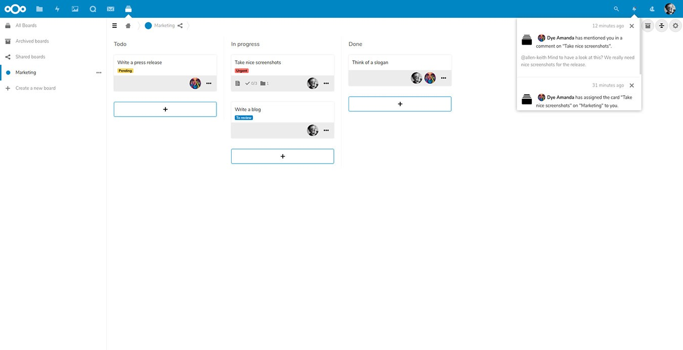 Mejor plataforma de servidor de aplicaciones de Nextcloud