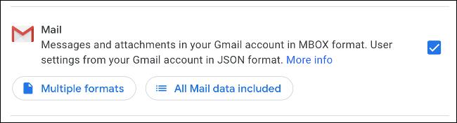 Descarga Gmail como MBOX