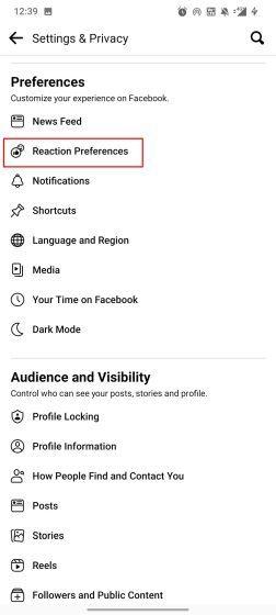 Ocultar me gusta cuenta en Facebook