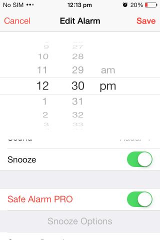 Habilitación de Safe Alarm PRO