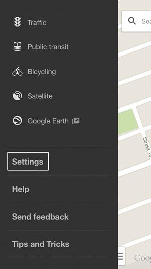 Configuración de mapas de ubicación de Google