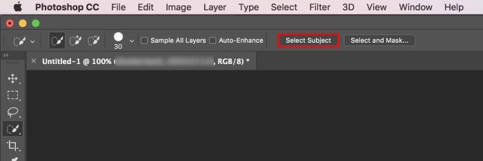 Adobe Photoshop CC 2018 Seleccionar tema