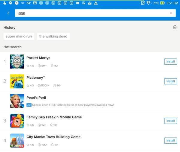 barra de búsqueda playmobo