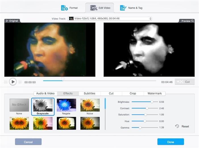 efectos de videoproc
