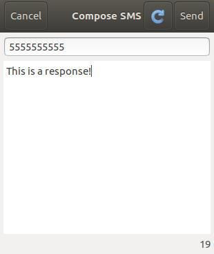 Envía mensajes de texto desde Ubuntu Linux