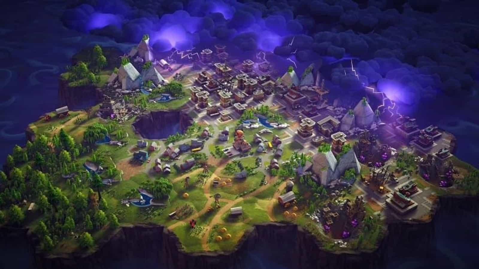 Mapa de la temporada 8 de Fortnite: las filtraciones revelan una nueva dimensión alternativa