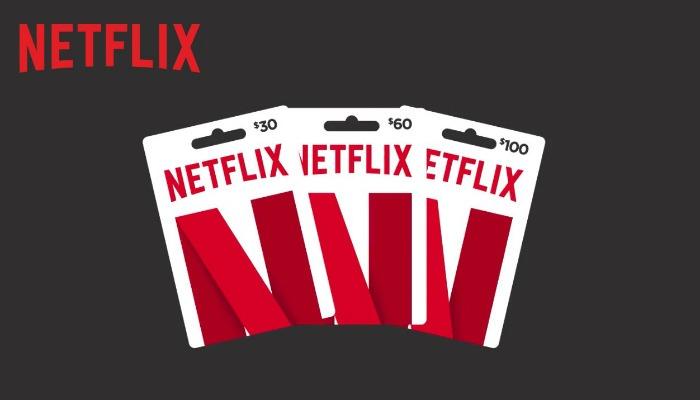 Tarjeta de regalo de Netflix