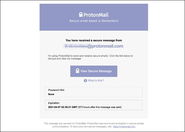 ProtonMail Messaged cifrado para todas las cuentas de correo electrónico