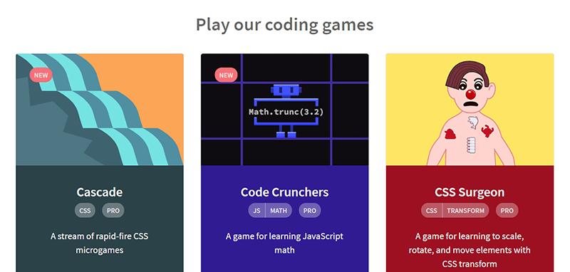 Juegos CSS Codepip