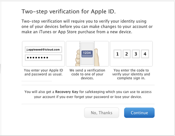 2Información de verificación de pasos