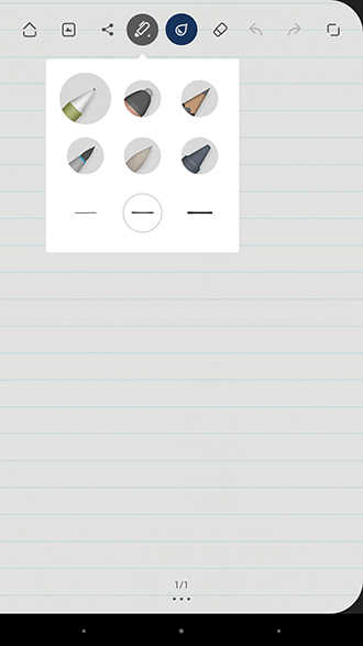 Papel de bambú - Selección de bolígrafo