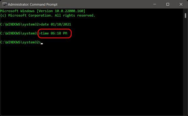 Cómo cambiar la fecha y la hora en Windows 11