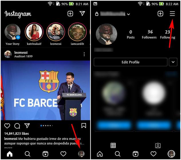 Cómo desconectar Facebook de Instagram